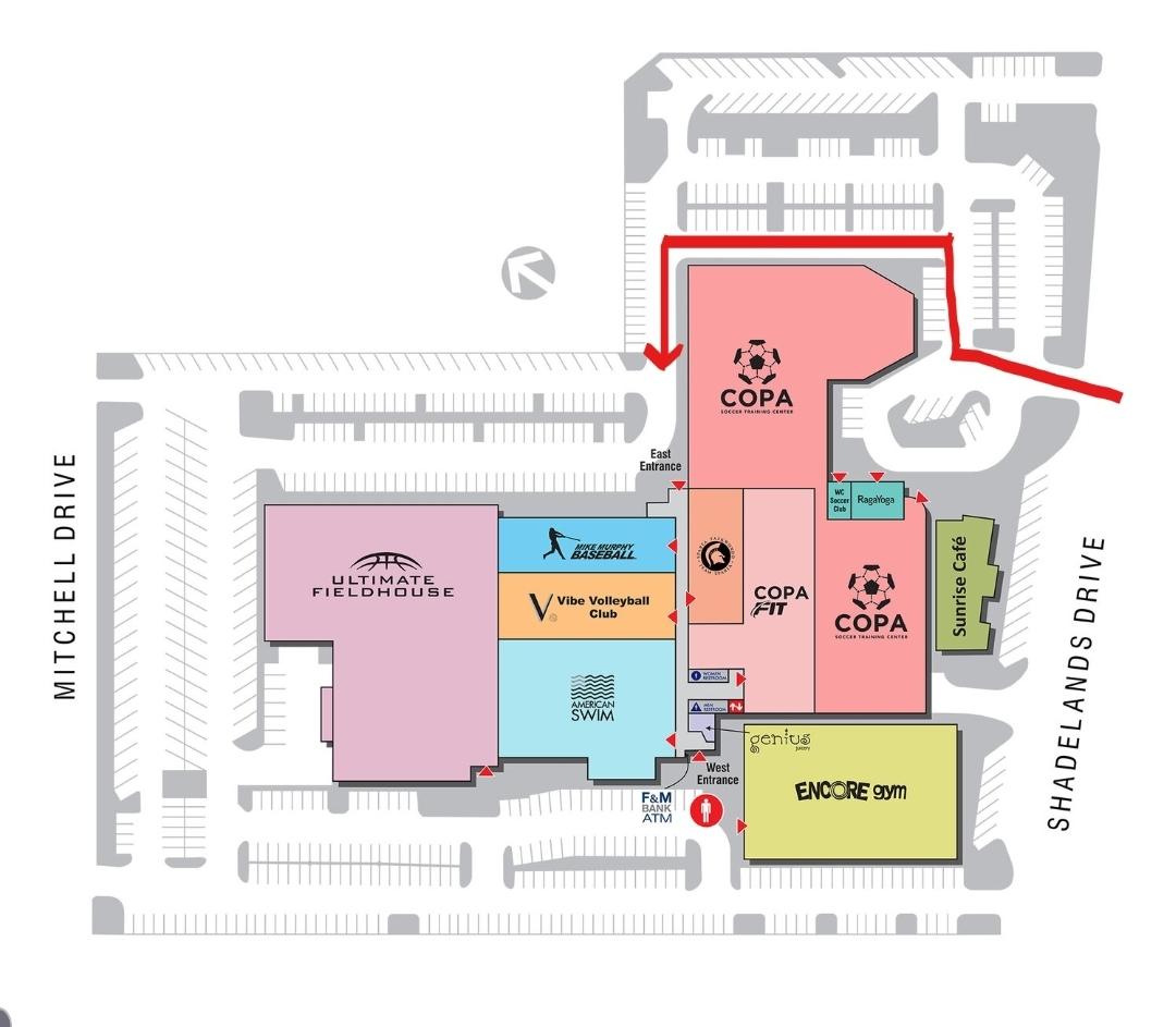 Sparta Taekwondo Map
